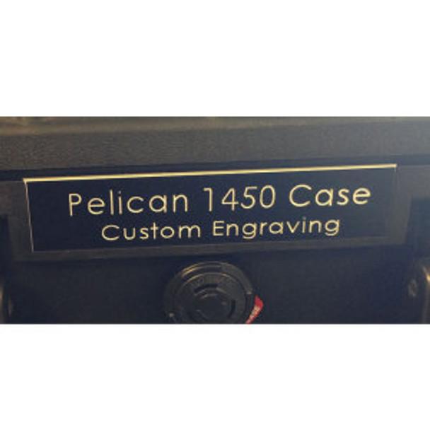 Pelican 1650 Nameplate