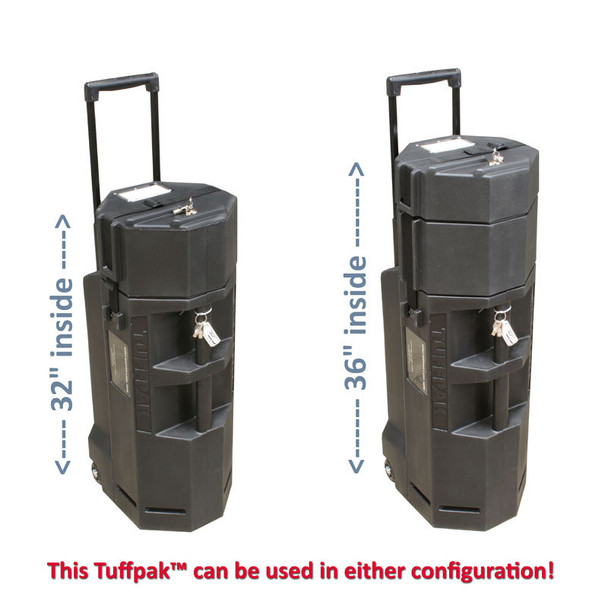 Tuffpak 1136 Take-Down Long Case