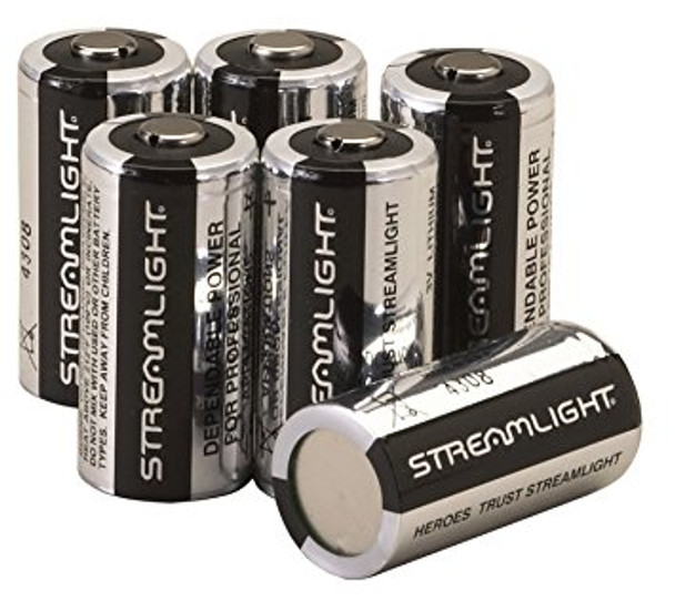 Streamlight Lithium CR123, 12-pack