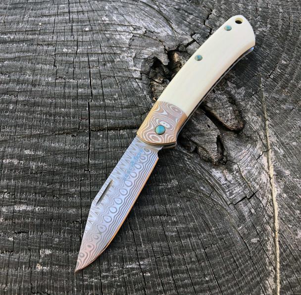 Benchmade Proper 318-181 Gold Class