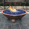 "60"" lit barbados fire bowl"