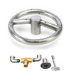 6 inch gas fire ring stainless steel kit