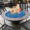 Tropical Blue Fire Glass