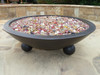 Cabaret blend fire glass in Barbados fire bowl