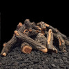 weathered oak fire pit logs