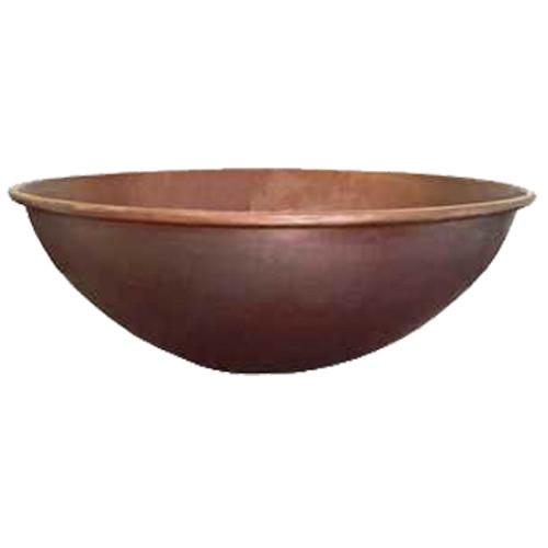 """18"""" copper fire bowl in dubai style"""