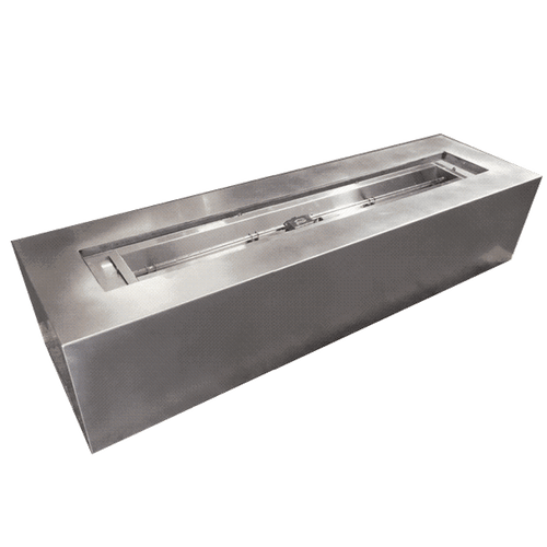 Comet of Fire- Trough Stainless Steel Fire pit