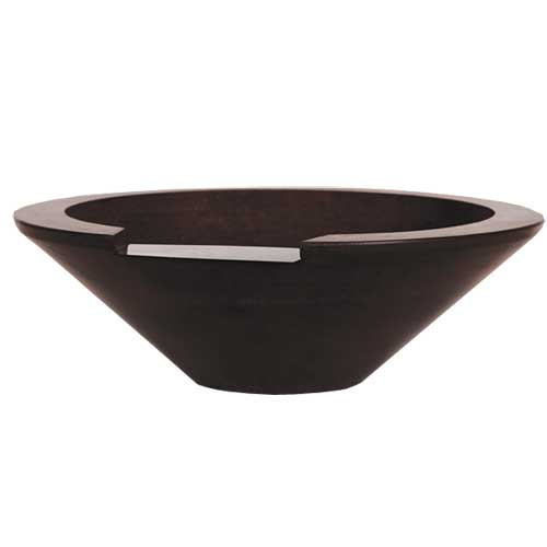 "36"" ecuador fire  and water concrete bowl"