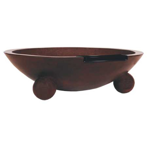 """42"""" barbados fire and water bowl"""