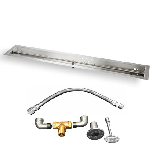 "36"" trough burner with kit"