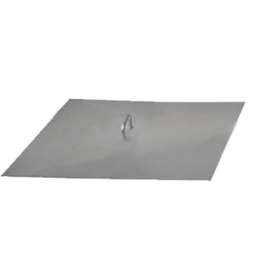 Stainless steel square fire pit cover