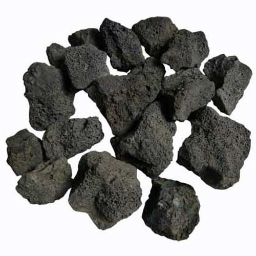 "2"" - 4"" black/gray small sized lava rock"