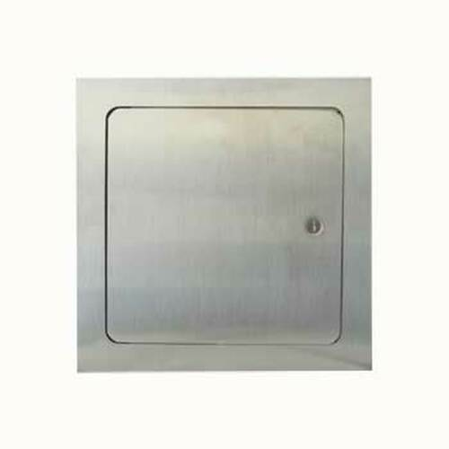 "8"" x 8"" stainless steel access door for fire feature and gas access"