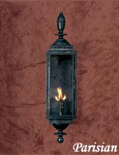 Large copper gas light- The Large Parisian Gas Light