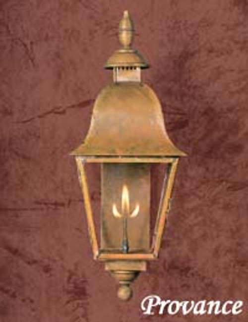Copper gas light- The Provence