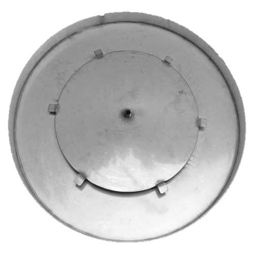 "28"" round fire pit pan with access plate"