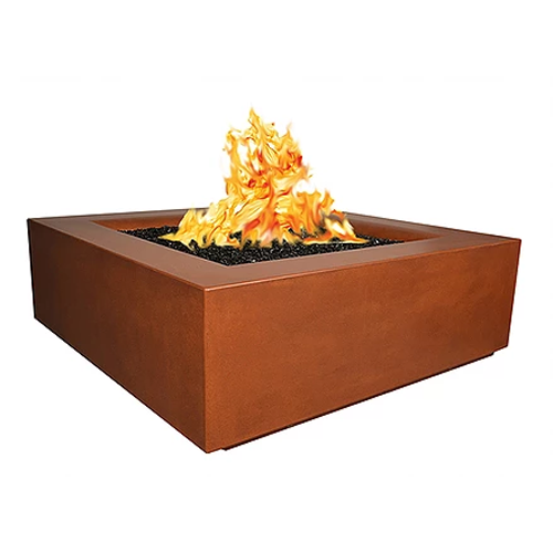 "60"" square camden fire pit"