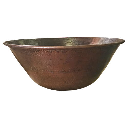 "24"" Mediterranean fire bowl for ethanol burner"
