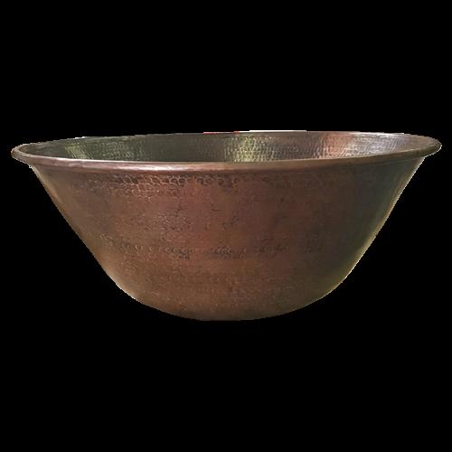 "24"" Mediterranean fire bowl for ethanol burner"