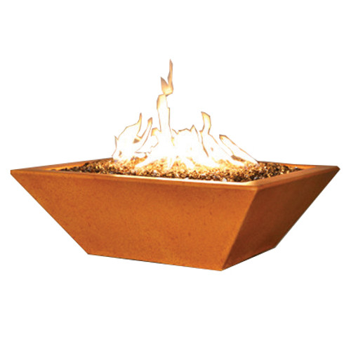 """Florencia Fire Pit with 2"""" ledge"""