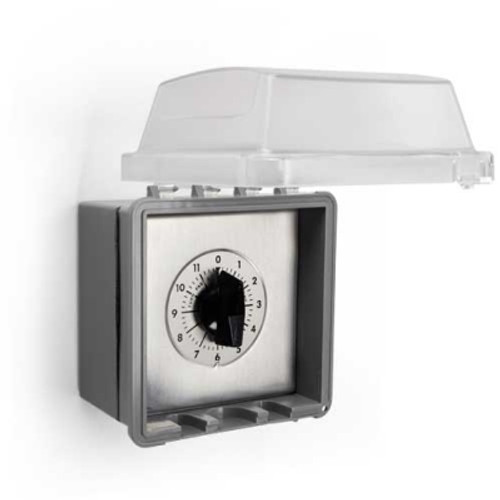 Timer for electrical fire pit