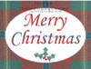 Connemara Tartan Merry Christmas Greeting Card