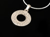 Round Celtic Knot Pendant Necklace