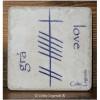 Love Irish Grá Ogham 4x4 Coaster Tile