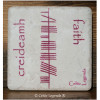 Faith Gaelic Creideamh Ogham 4x4 Coaster Tile