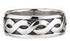 Celtic Weave Band Wide