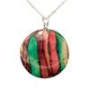 Round Heathergem Pendant Necklace