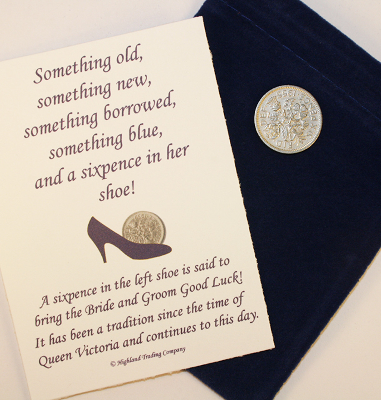 Lucky Sixpence for Wedding