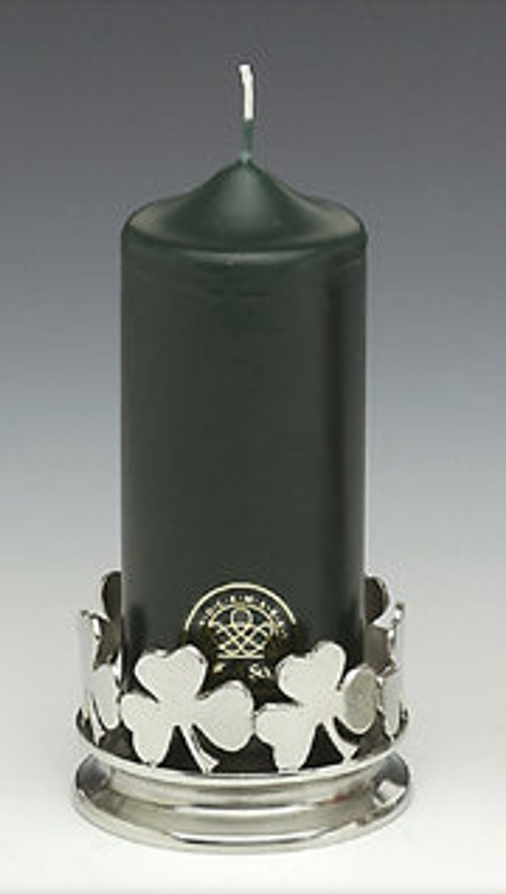 Irish Shamrock Candle Holder (Single) SAVE 25%