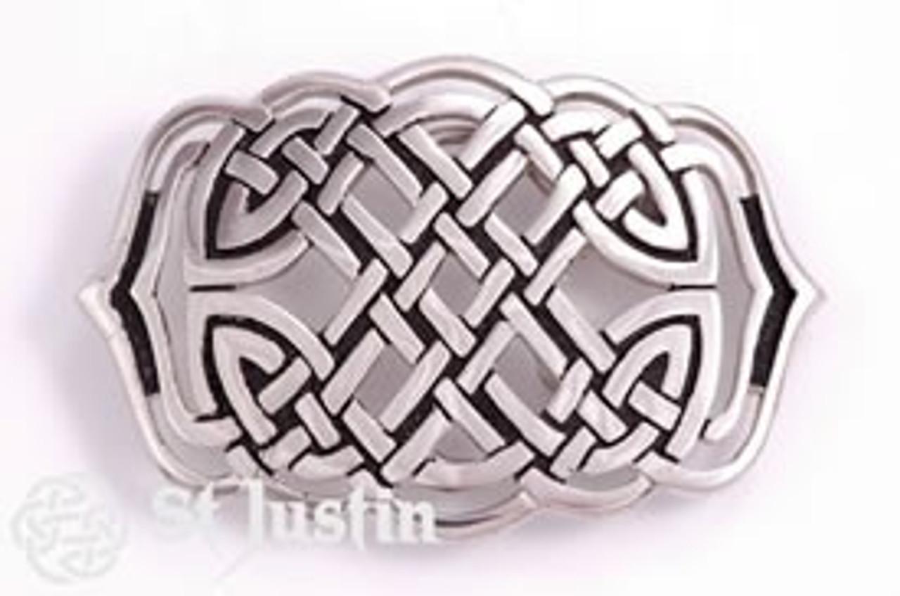 Celtic Weave Knot Belt Buckle