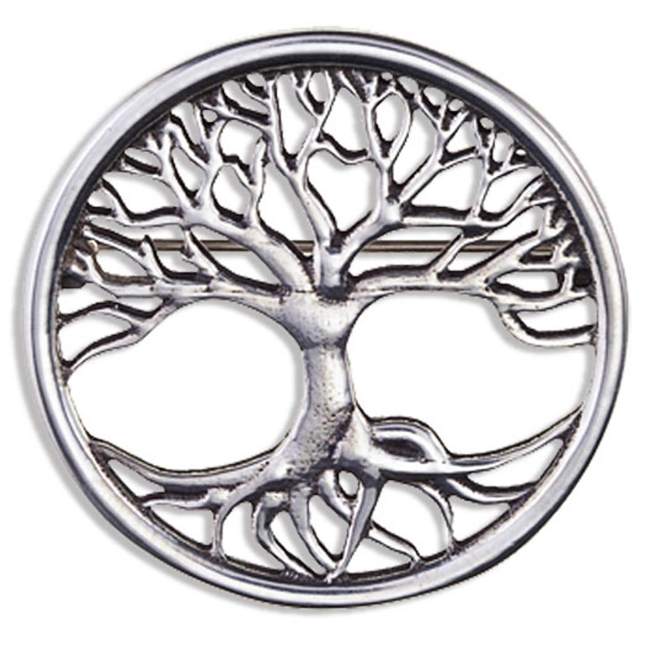 Celtic Tree of Life Brooch