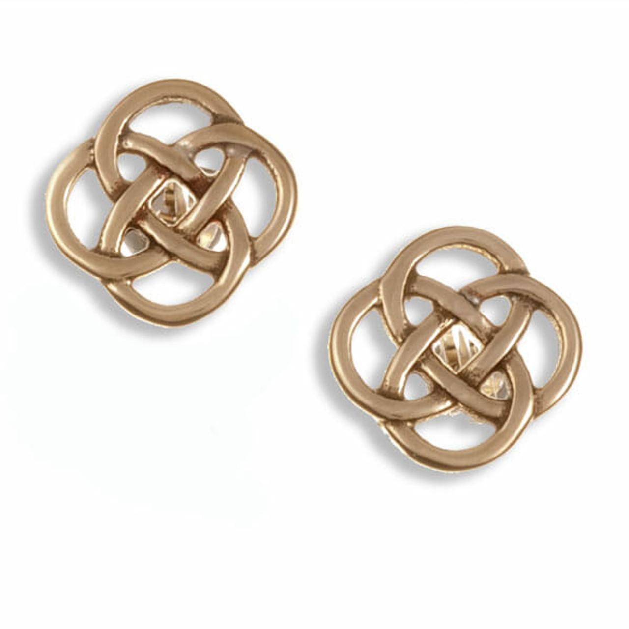 Celtic Loop Knot Earrings