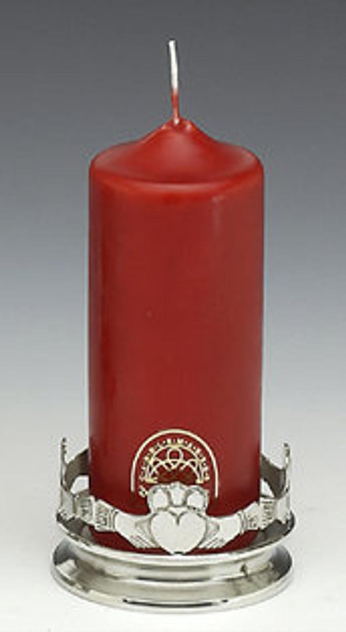 Irish Claddagh Candle Holder (Single) SAVE 25%