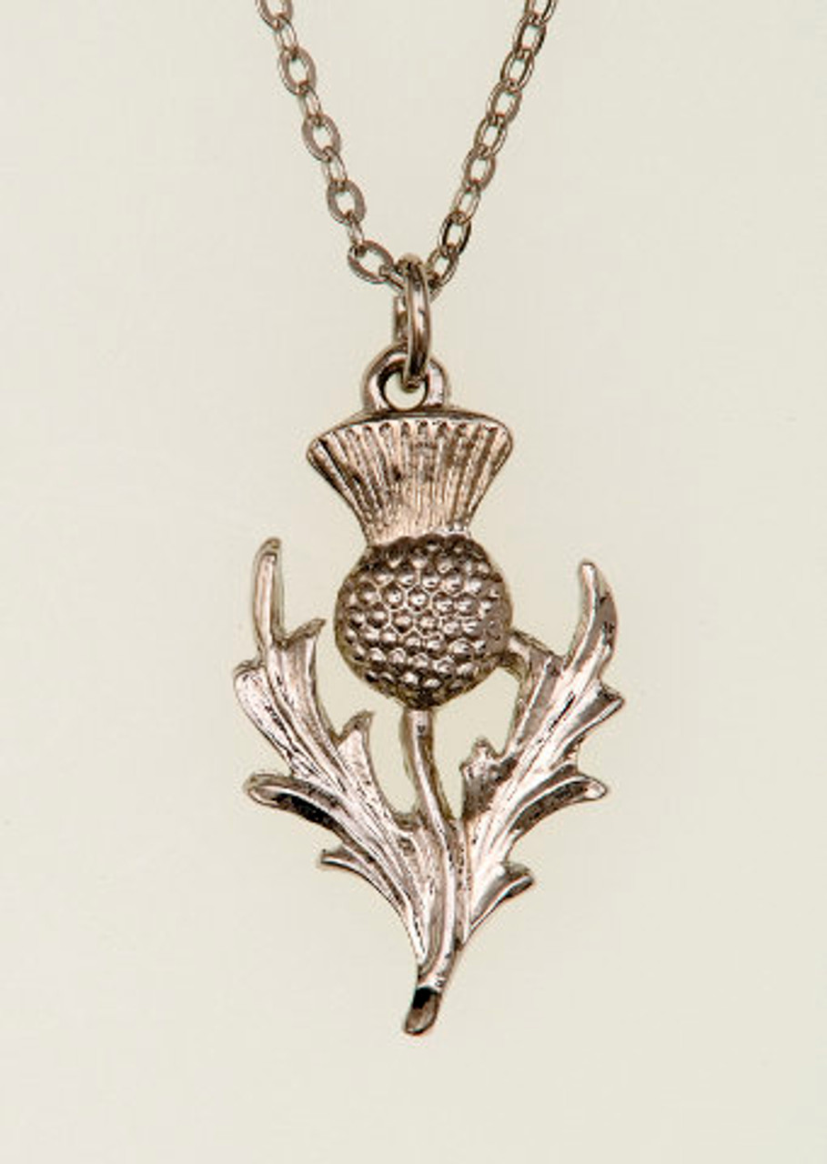 Thistle Pendant Necklace