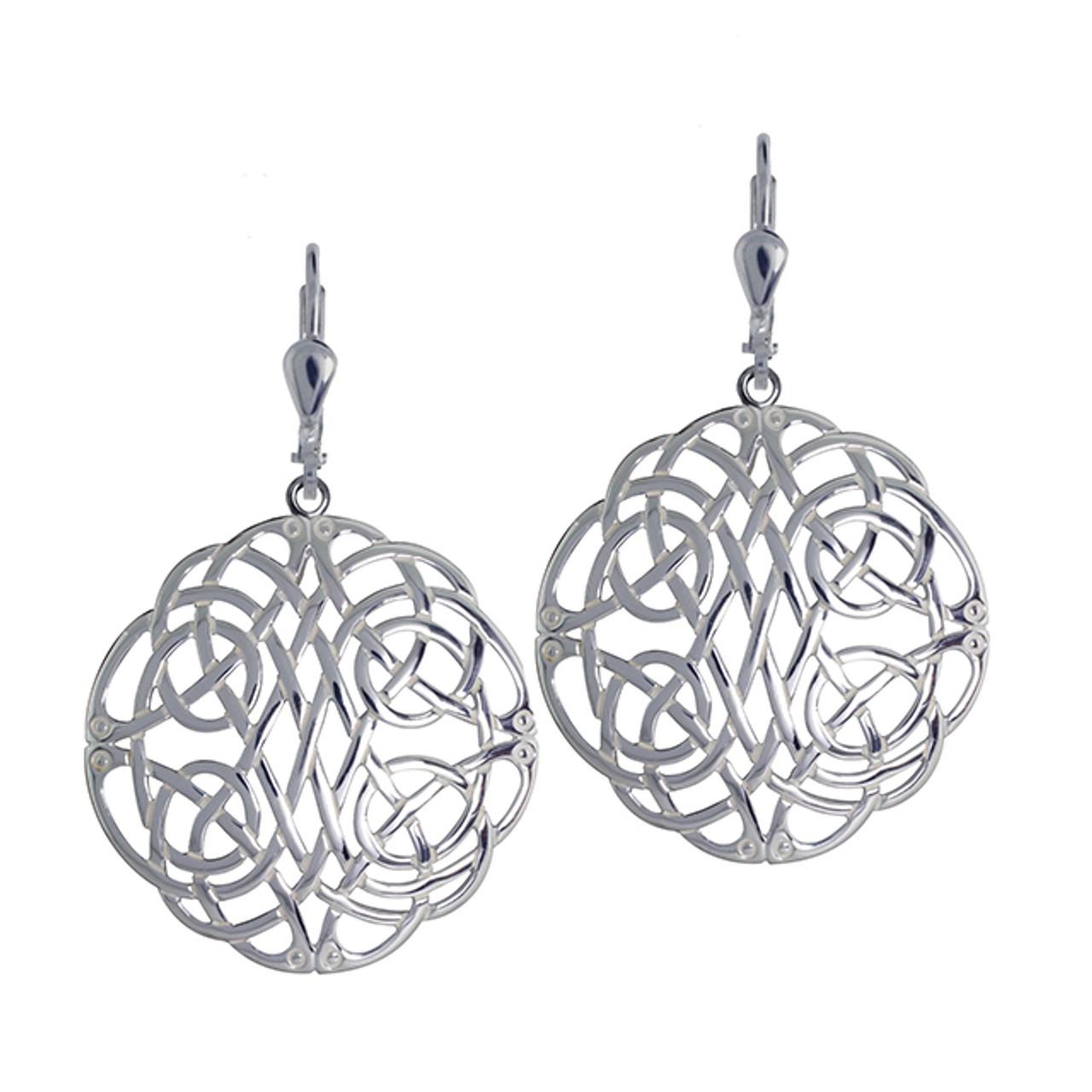 Intricate Celtic Knot Earrings