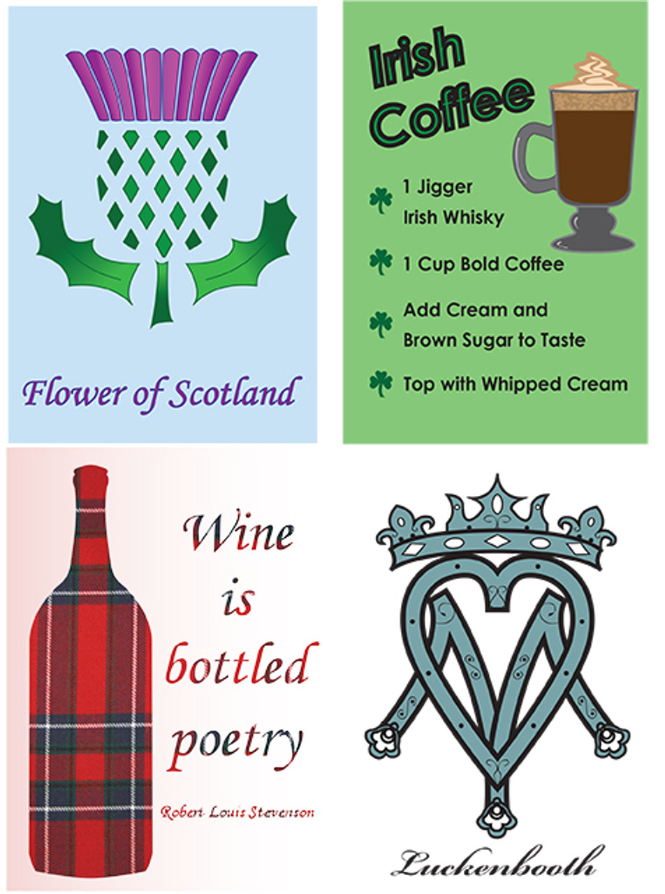 Celtic Greeting Cards - SELECT ANY SIX