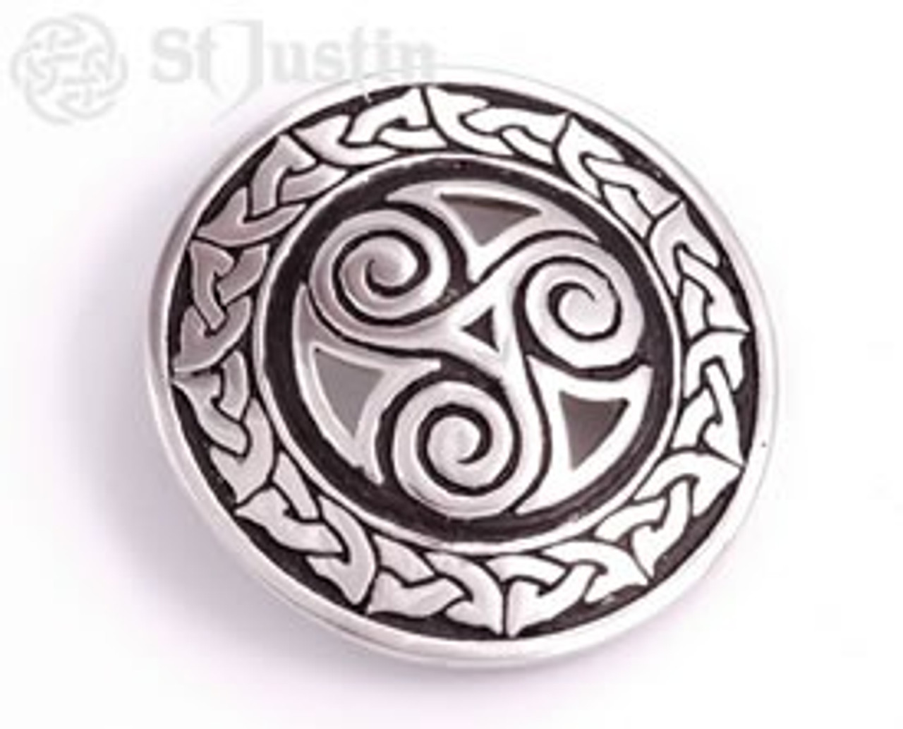 Triscele Spiral Belt Buckle