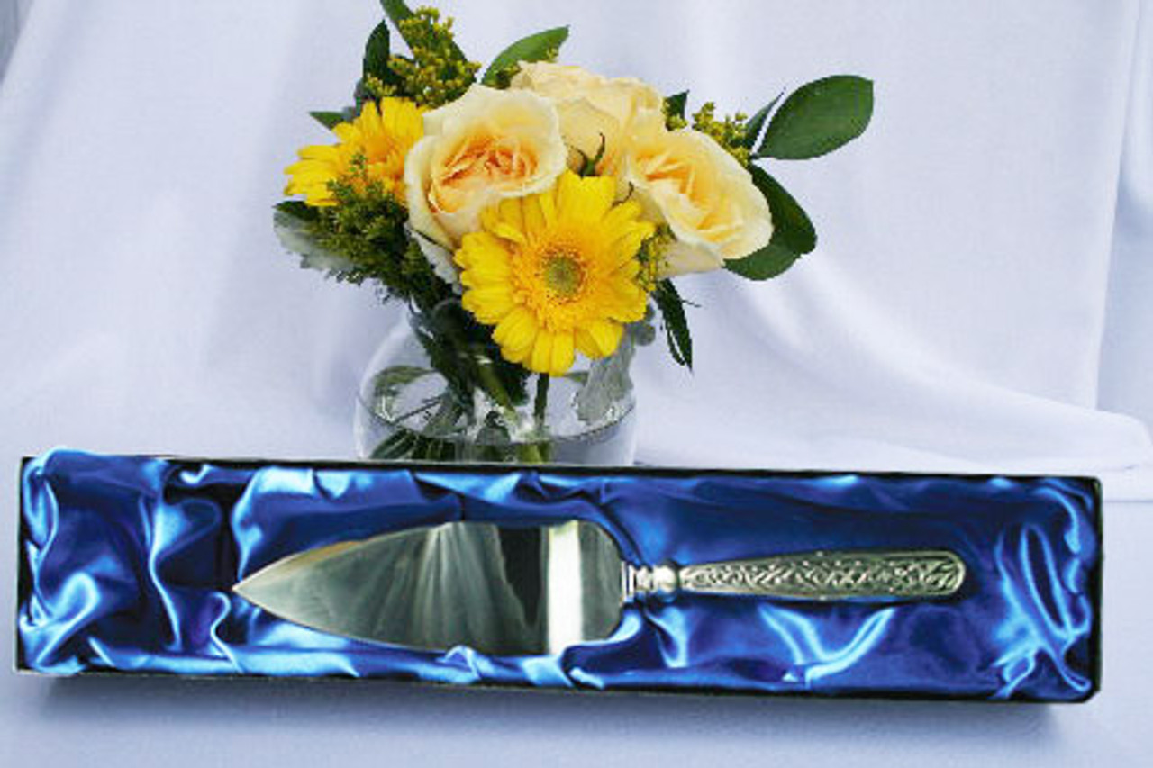 Celtic Knot Cake Server SAVE 25%