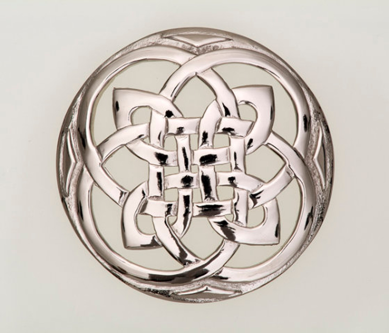 Large Celtic Knot Brooch