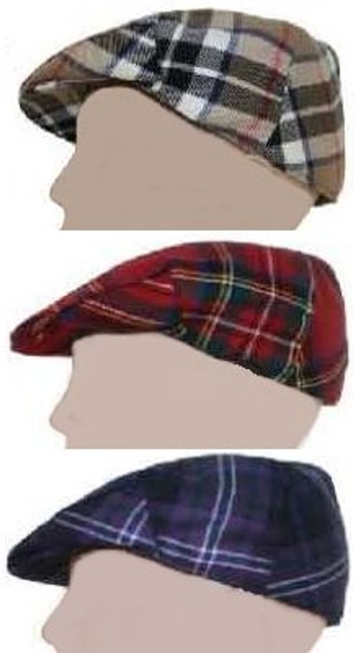 Cabby Cap Tartan Plaid - Abercrombie to MacDonald