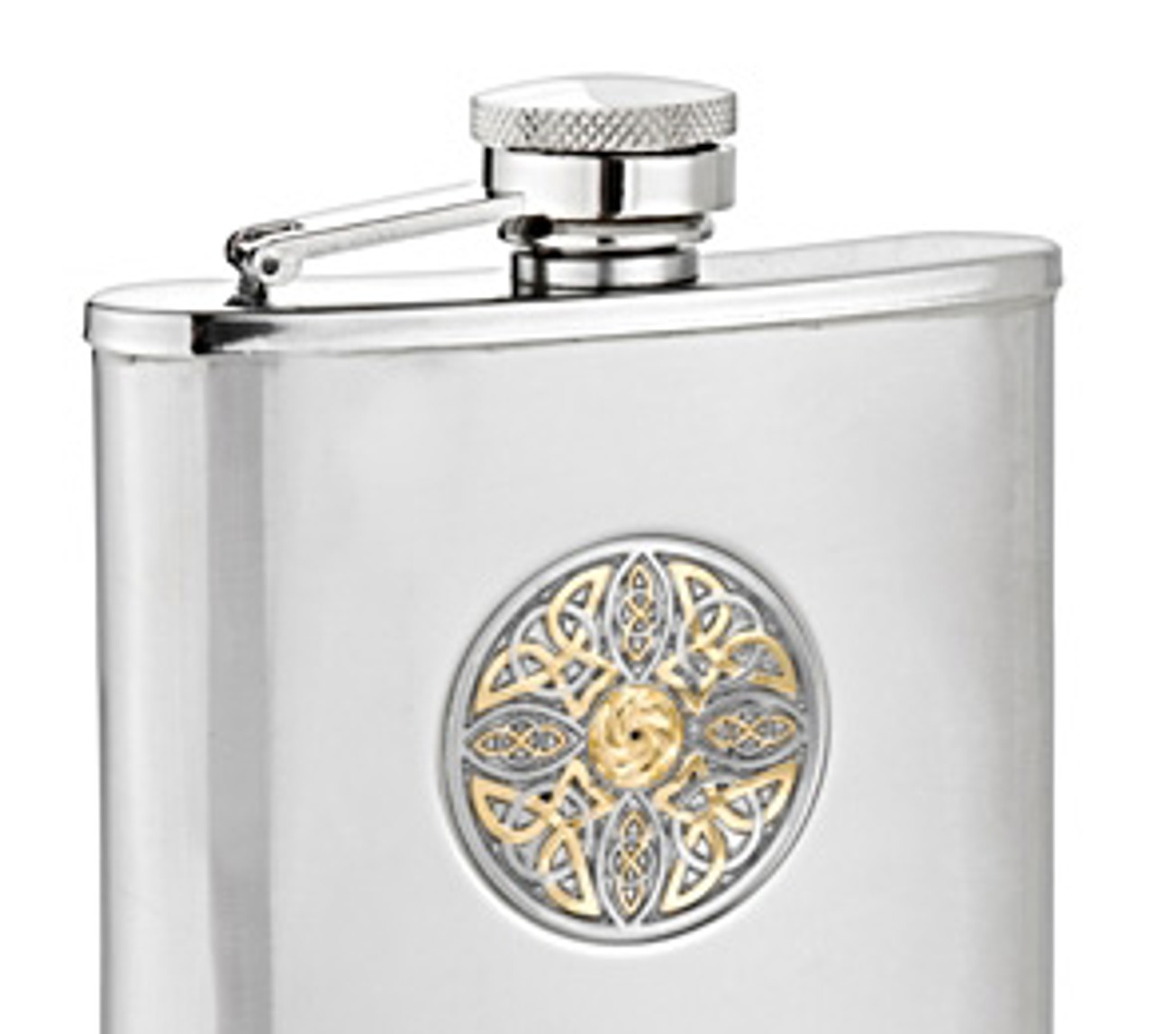 Celtic Knot Two Tone Flask