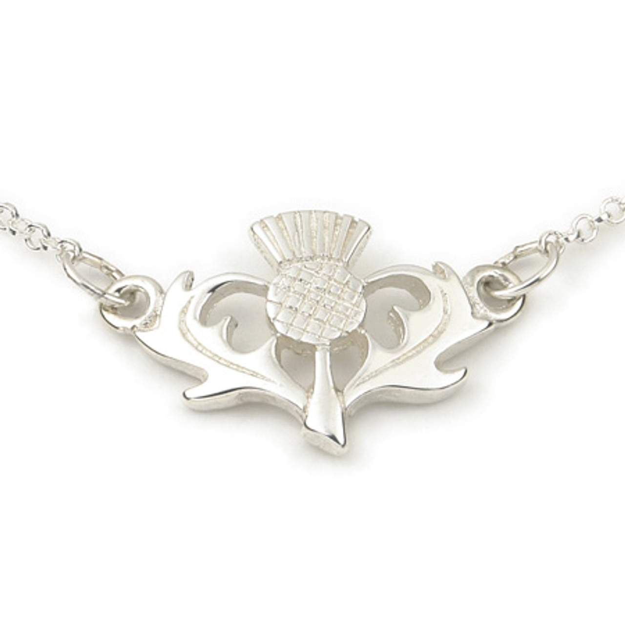 Thistle Necklet