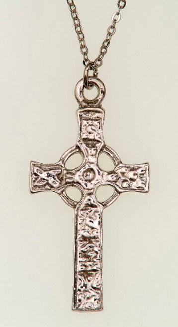 St. John's Cross Pendant Necklace