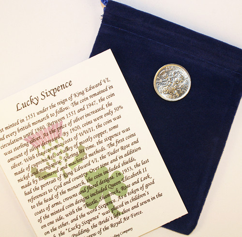 Lucky Sixpence for Any Occasion
