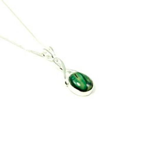 Celtic Twist Pendant Necklace