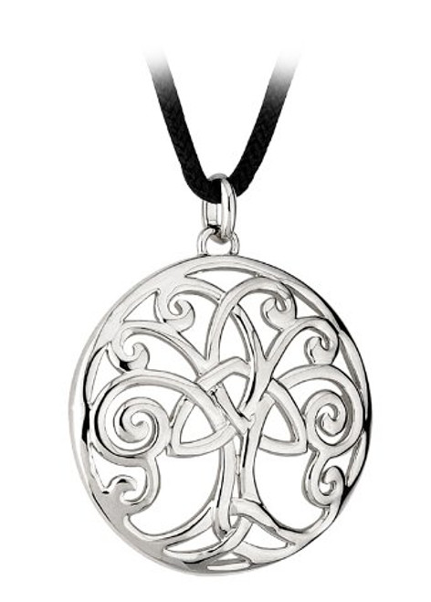 Tree of Life Pendant Necklace on Cord